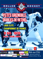 Roller hockey Elite Grenoble vs Rethel 18/04/2015
