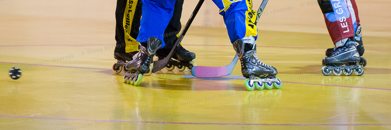 Roller Hockey Féminine phase 1 Grand Lemps vs Lyon 26/09/2015