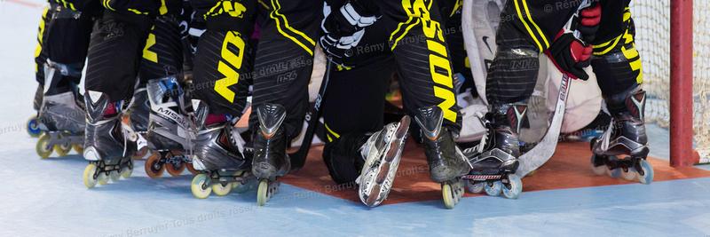 Roller Hockey, Ligue Elite, Championnat de France : Grenoble vs Aubagne 13/02/2016