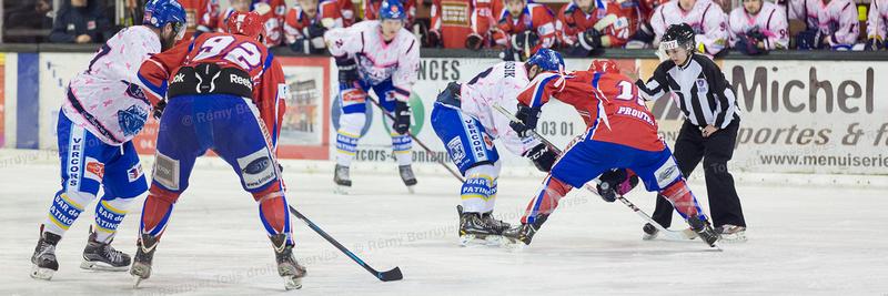 Hockey sur glace, Division 2, Championnat de France : Villard de Lans vs Asnières 06/02/2016