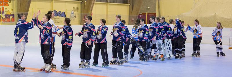 Roller Hockey Championnat Féminin phase 1 Grand Lemps vs Paca-A