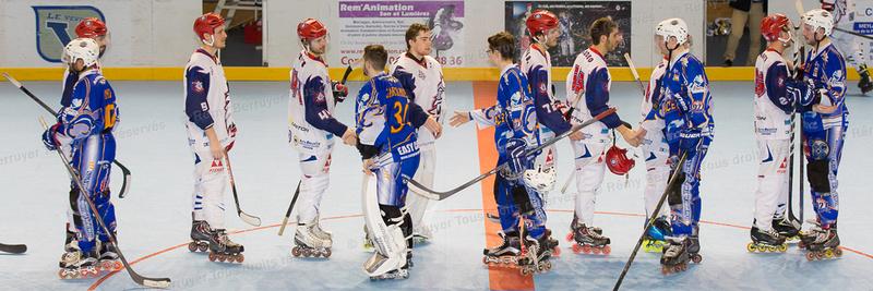 Roller Hockey, Coupe de France Hommes, 1/8 de finale : Grenoble