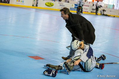 Roller Hockey Junior Finale Championnats  Villeneuve vs Grenoble