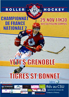 Roller Hockey N2 Grenoble vs St Bonnet 29/11/2014