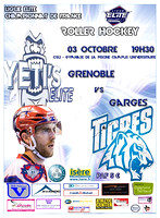 Roller Hockey Championnat Elite Grenoble vs Garges 03/10/2105