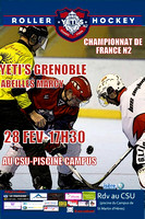 Roller hockey Nationale 2 Grenoble vs Marcy 28/02/2015