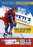 Roller Hockey Elite Grenoble vs Villeneuve 19/10/2013
