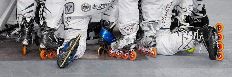 Roller Hockey Championnat Elite Grenoble vs Garges 03/10/2105