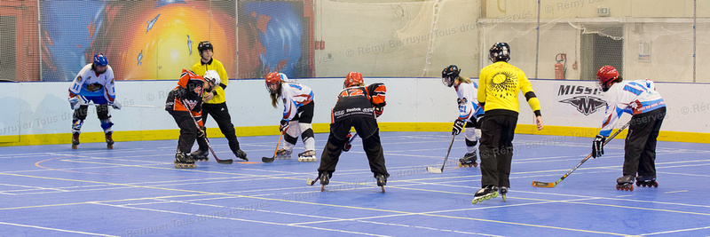 Roller Hockey Féminine phase 1 Grand Lemps vs Toulouse 07/11/20