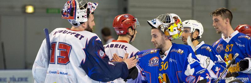 Roller Hockey Coupe de France 1/8 de finale Grenoble Elite vs Re