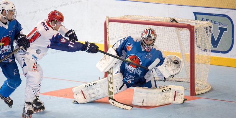 Roller Hockey Coupe de France 1/4 de finale Grenoble vs Angers 1